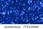 a high tech 3d illustration of...   Shutterstock . vector #779120983
