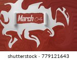 day of months  march | Shutterstock . vector #779121643