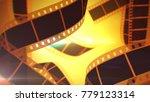 a retro 3d illustration of... | Shutterstock . vector #779123314