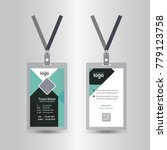 creative simple green   black... | Shutterstock .eps vector #779123758