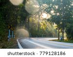 small and curve upcountry or... | Shutterstock . vector #779128186