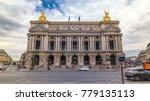 palais or opera garnier the...   Shutterstock . vector #779135113