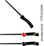 pad saw design vector art... | Shutterstock .eps vector #779141044