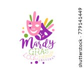 flat style colorful logo... | Shutterstock .eps vector #779141449