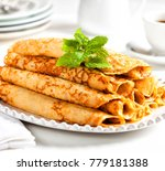 pile of delicious filled sweet... | Shutterstock . vector #779181388