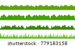 large set of fresh green spring ... | Shutterstock .eps vector #779183158