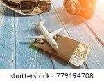 tourist travel planning concept ... | Shutterstock . vector #779194708