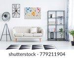bright living room interior... | Shutterstock . vector #779211904