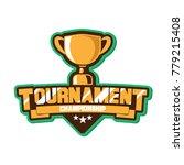 emblem cup championship  | Shutterstock .eps vector #779215408
