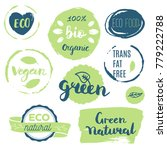 fresh  organic  gluten free ... | Shutterstock .eps vector #779222788