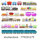 kids train vector cartoon baby... | Shutterstock .eps vector #779231179