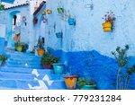 traditional moroccan courtyard...   Shutterstock . vector #779231284