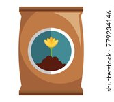 fertilizer bag isolated icon | Shutterstock .eps vector #779234146