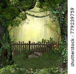 3d Rendering Of A Enchanting...