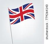 national flag of uk   the... | Shutterstock .eps vector #779264140