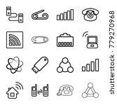 connect icons. set of 16... | Shutterstock .eps vector #779270968