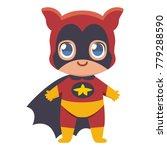vector cute kawaii kid... | Shutterstock .eps vector #779288590