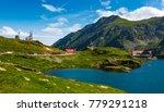 transfagarasan road  romania  ...   Shutterstock . vector #779291218