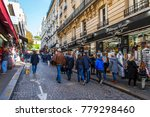 paris  france  on october 30 ... | Shutterstock . vector #779298460