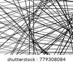 grunge white and black stripes. ... | Shutterstock .eps vector #779308084