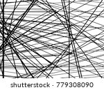 grunge white and black stripes. ... | Shutterstock .eps vector #779308090