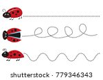 preschool springs worksheet ... | Shutterstock .eps vector #779346343