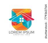 pocket house logo design.... | Shutterstock .eps vector #779363764