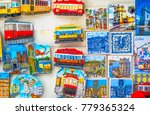 colorful ceramic tiles magnets...   Shutterstock . vector #779365324