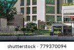 timelapse view on embankment at ... | Shutterstock . vector #779370094