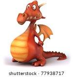 dragon   Shutterstock . vector #77938717