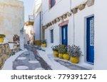 architecture in leros island ...   Shutterstock . vector #779391274