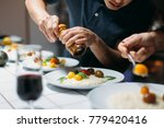 professional chef or cook... | Shutterstock . vector #779420416
