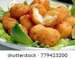 delicious cod dumpling | Shutterstock . vector #779423200