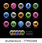 multimedia icons    gelcolor...   Shutterstock .eps vector #77942368