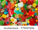 a large collection of sweets... | Shutterstock . vector #779447656