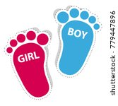 Baby Footprint   Girl And Boy...