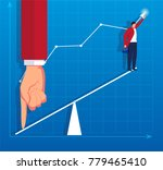 helping hand concept business... | Shutterstock .eps vector #779465410