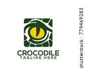 crocodile logo vector | Shutterstock .eps vector #779469283