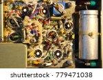 capacitor  transistor  resistor ... | Shutterstock . vector #779471038
