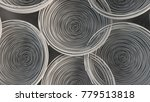 abstract background from white... | Shutterstock . vector #779513818