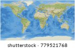 national geographic world map | Shutterstock . vector #779521768