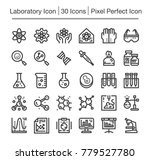 laboratory science line icon... | Shutterstock .eps vector #779527780