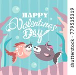 valentines day card | Shutterstock .eps vector #779535319