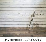 cotton a dried flower on the... | Shutterstock . vector #779537968