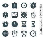 countdown icons. set of 16... | Shutterstock .eps vector #779578963