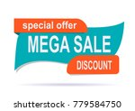 banner sale exclusive original... | Shutterstock .eps vector #779584750