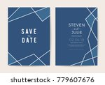 luxury wedding invitation cards ... | Shutterstock .eps vector #779607676
