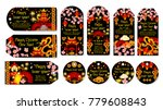 happy chinese lunar new year... | Shutterstock .eps vector #779608843