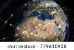 3d rendering abstract concept... | Shutterstock . vector #779610928