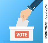 vote vector  voting concept in...